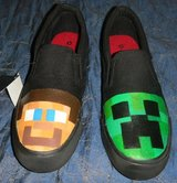 More Minecraft Shoes ADult & Youth All Sizes in Kingwood, Texas